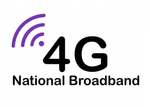 4G Internet logo.