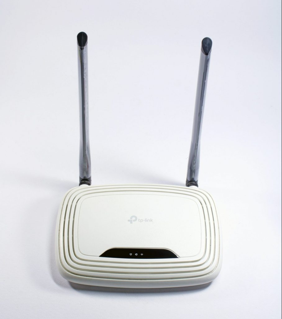 TP-Link 4G router.