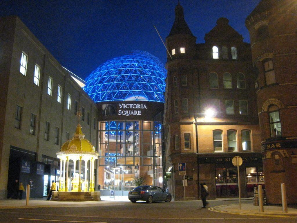 Belfast city centre.
