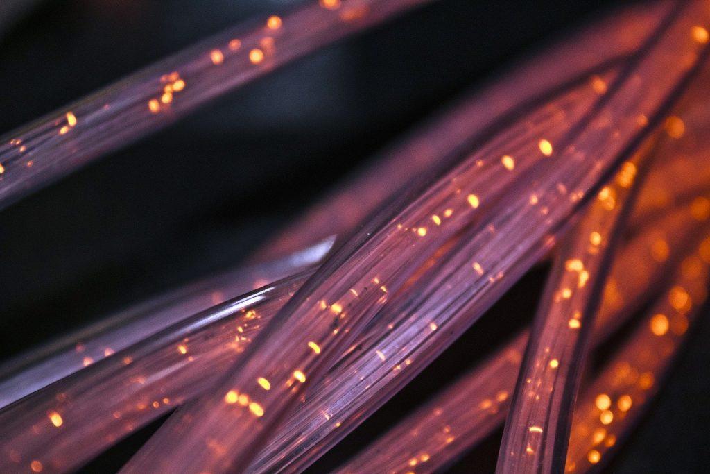 Fibre broadband cable.