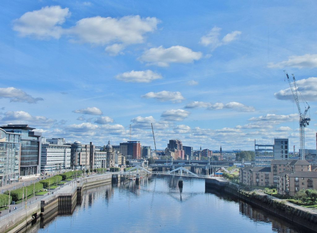 River Clyde in Glasgow.