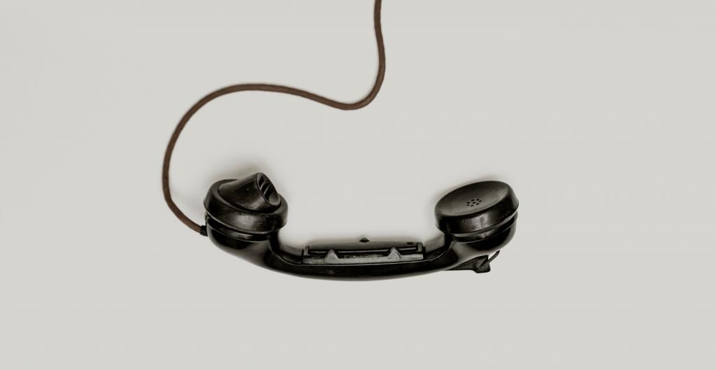 Home phone handset.