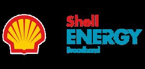 Shell Energy Broadband logo.