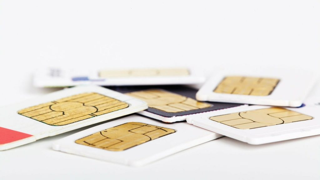 Roaming SIM cards.