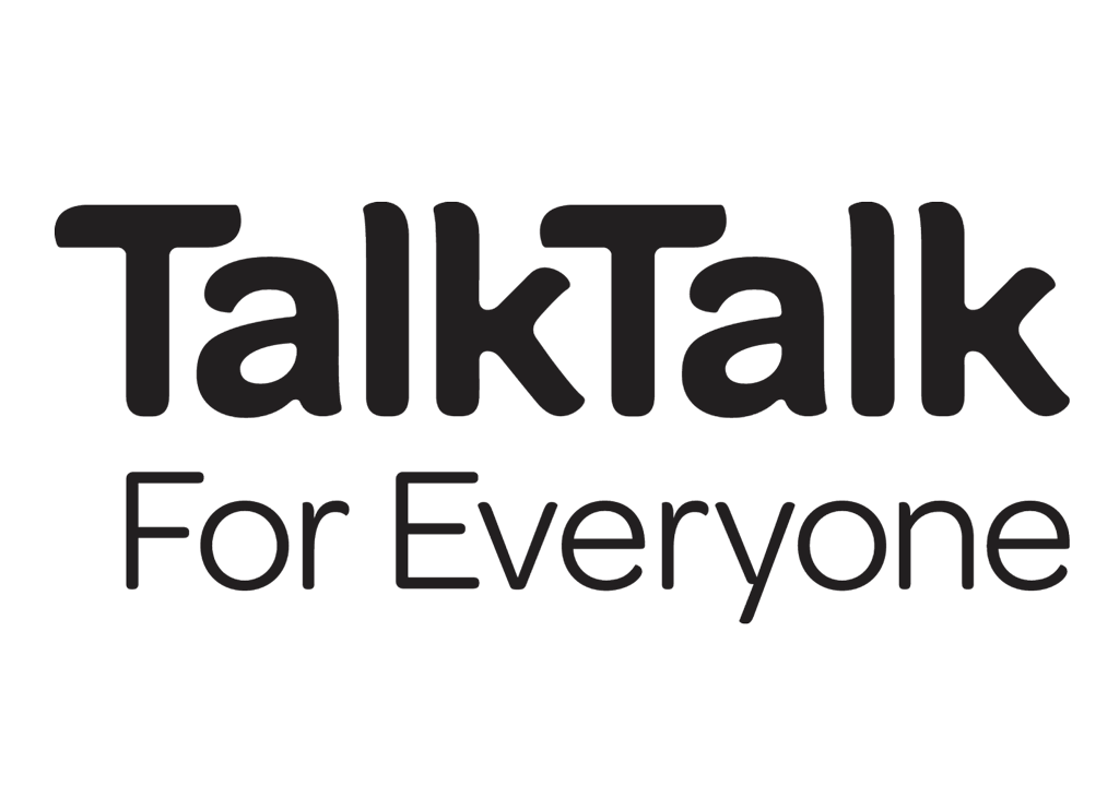 TalkTalk logo.