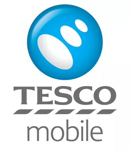 Tesco Mobile logo.