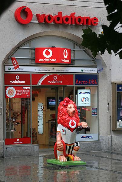 Vodafone broadband store.