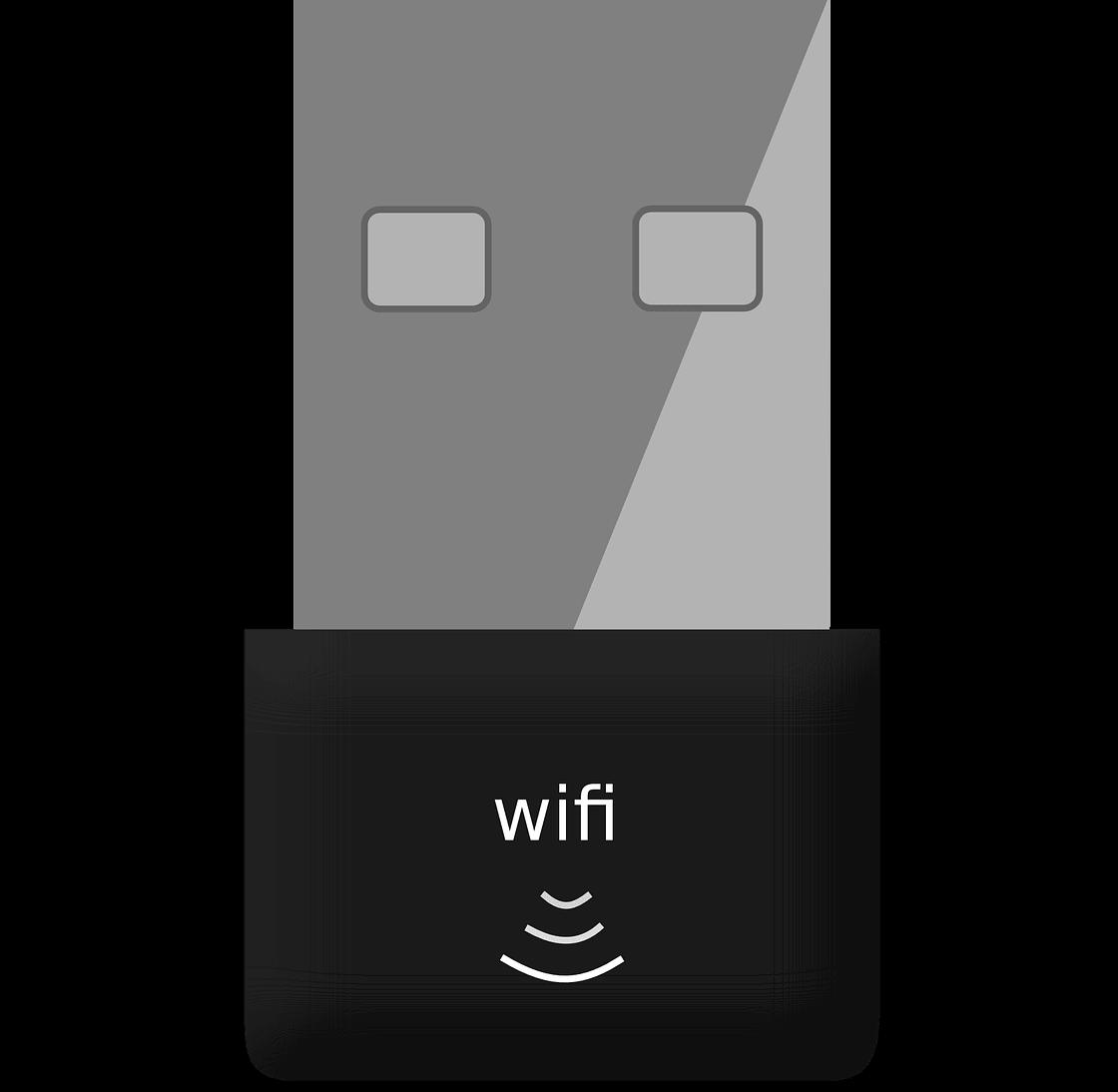 People using WiFi.
